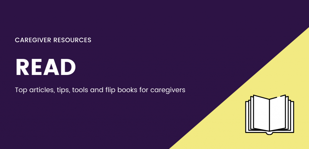 Resources to read and support you in all aspects in caregiving